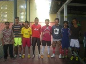 TIM Futsal Ampang di dampingi sekretaris DPRa Nofrizal, S.PdI